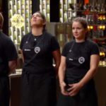 Masterchef Elimination Trent, Nicolette, Chloe and Elise