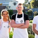Masterchef Immunity Challenge Harry, Elise and Brett